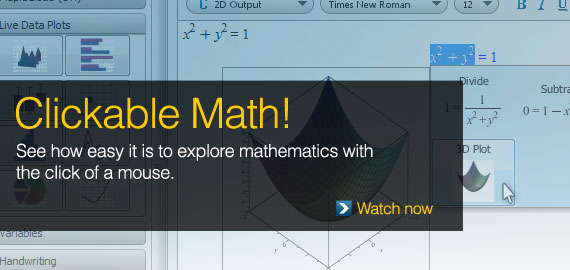 Clickable Math